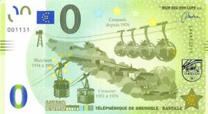 38 GRENOBLE Téléphérique, 2018, Memo Euro Scope
