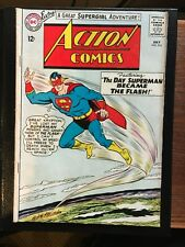 ACTION COMICS #314  July 1964 - The Day Superman became the Flash!