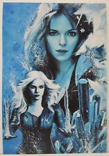 Frost by Rob Prior Hand Signed Print  Charater from the TV Show Arrow