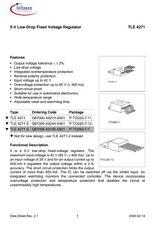 TLE4271 G 5-V Low-Drop Fixed Voltage Regulator 5 V