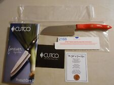 NEW Cutco 5 Inch Petite Santoku Knife 2166 W/ Original Paperwork