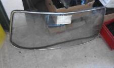 BMW E09 Frontscheibe klar mit Zierrahmen