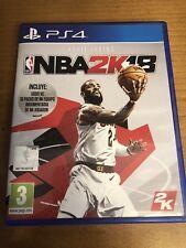 PS4 NBA2K18 Español Seminuevo Usado Disco Perfectas Condiciones