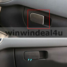 FOR VW VOLKSWAGEN GOLF 7 MK7 GLOVE BOX SWITCH TRIM COVER STAINLESS STEEL