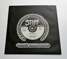 "Nick Lowe - So It Goes UK 1978 Stiff Solid Centre 7"" Single"