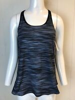 NWT TYR Women's Arvada Taylor Tank Swimming Top, Black, Size M (8)