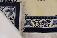 S.ancien Pékin très fine PERSAN TAPIS tapis d'Orient 3,66 x 2,75