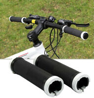 1 Pair Cycling Mountain Bike MTB BMX Bicycle Double Lock On Handlebar Grips