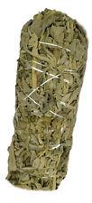 Dried Sage Leaf Smudging Burn Stick 6-7inch 90-100gm Remove Negativity set of 3