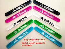 Slap 3D Adidas Sports Silicone Bracelets 8.5''can fit every one buy 3 get 1 free