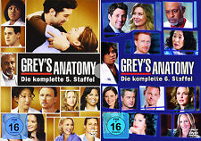 Grey's Anatomy - Die komplette 5. + 6. Staffel (Greys)               | DVD | 273