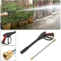 3000PSI High Pressure Power Washer Spray Nozzle Water Gun Wand Kits Car Cleaning