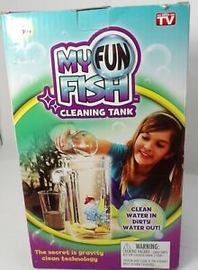 """New """"MY FUN"""" for All AgesSelf Cleaning Fish Tank"""