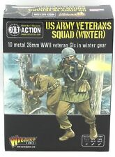 Bolt Action 402213002 Us Army Veterans Squad (Winter) Wwii Gis Infantry Warlord