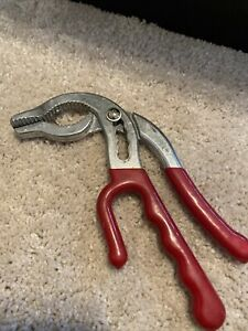 Vintage Red Slip Joint Pliers