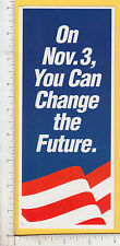 9691 Ross Perot 1992 presidential campaign flier Jerry Charlup American flag