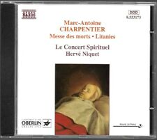 ALBUM CD / CHARPENTIER : MESSE DES MORTS - LITANIES / NAXOS