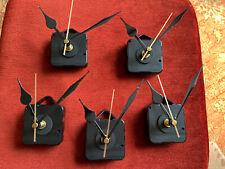 5x  Quartz Clock Movement Mechanism Motor & Hands *NEW*