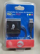 Adaptador de tarjeta de Ps2 a Ps3 - PlayStation memory card adapter ps2 to ps3