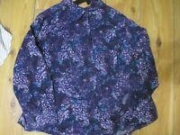 CJ Banks Ladies Plus Size Long Sleeve Shirt Blouse 3X