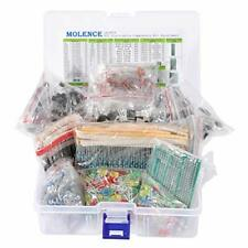 Molence Diy Electronics Components Kit Assortment Resistors 1818Pcs Led Triod.