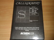 Caligrafía para Acorn BBC B/B +/Master 128 computadoras