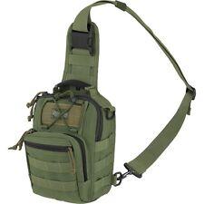 Outdoor Tactical Shoulder Gearslinger Backpack, Mens Remora Green Camp Hike Pack