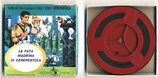 Super 8 S8 LA FATA MADRINA DI CENERENTOLA Walt Disney Cinecasa 2105 OTTIMO 8mm