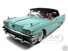 1958 BUICK LIMITED CLOSED CONVT.GREEN 1:18 PLATINUM ED. MODEL BY SUNSTAR 4813