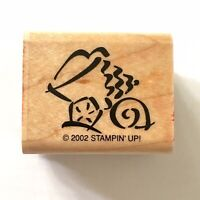 Sea Shell Rubber Stamp Stampin Up 3 Shells Sea Ocean Beach Nautical Wood Mounted