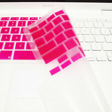 A1181 FULL HOT PINK Silicone Keyboard Skin Cover  for Old Macbook White 13/""