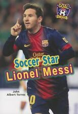 Soccer Star Lionel Messi (Goal! Latin Stars of Soccer)-ExLibrary