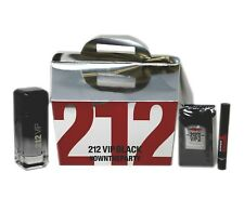 CAROLINA HERRERA 212 VIP BLACK #OWNTHEPARTY GIFT SET F/M EAU DE PARFUM SPR 100ML