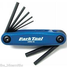 Park Tool AWS-10C Metric Folding Allen Hex Wrench 1.5-6mm Bike Tool