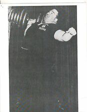 Weightlifting Photo Strongman Paul Anderson Bodybuilding Muscle B&W #4