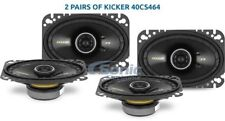 Kicker 40CS464 Two Sets of 4x6