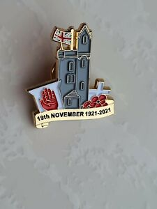 Ulster Tower 36th ulster division Somme UVF pin badges