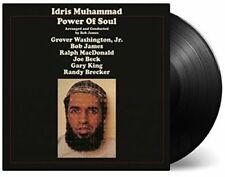 IDRIS MUHAMMAD - POWER OF SOUL   VINYL LP NEUF
