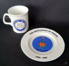 Association Of Wrens Mug And Small Plate 70th And 75th Ann. | FREE Delivery UK*