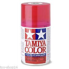 Tamiya #300086037 ps-37 100ml Rojo Translúcido Polycarb COLOR