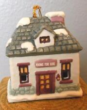 "Vintage Inn Bell Ceramic Ornament 3 x 2 x 2.5"" Hand Painted"