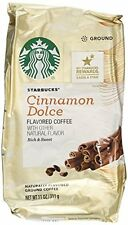 Starbucks Cinnamon Dolce Flavored Blonde Light Roast Ground Coffee, 11Ounce New