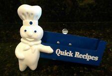 Vintage PILLSBURY DOUGHBOY Quick Recipe Holder Store Display Advertising Figure