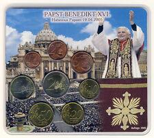 Germania - 3,88 euro 2005 D-CORSO set di monete-tasso-Papa Benedetto XVI
