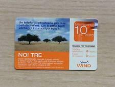RICARICA TELEFONICA WIND - NOI TRE UN TELEF. INFOSTRADA PIU' DUE WIND - 10 EURO