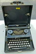 Vintage Royal Junior Portable Manual Typewriter with Case- EC-  Works Great!