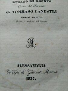 Piemonte e Ducato di Genova, libro di diritto del 1837, stampato ad Alessandria