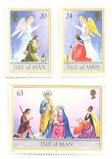 Isle of Man Christmas set 1997 mnh