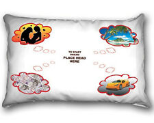 Divertido novedad Impresa Funda De Almohada-Live The Dream-Amor Dinero Paradise supercars