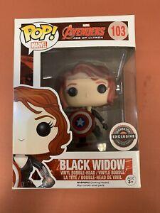 Funko Pop! Avengers Age Of Ultron - Black Widow - Gamestop Exclusive - #103